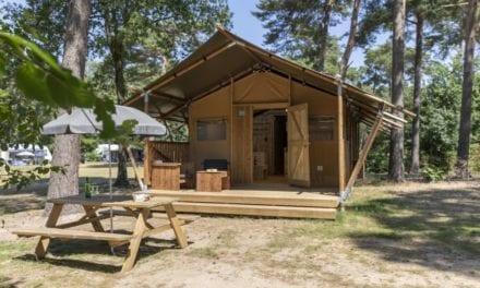 Safaritent midden in de natuur @ Bospark 't Wolfsen | midweek €143,-