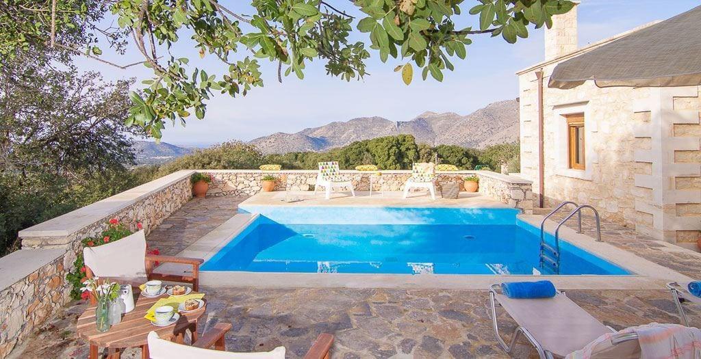 Luxe op het platteland @ Kreta  8 dagen in april voor €485,- p.p.